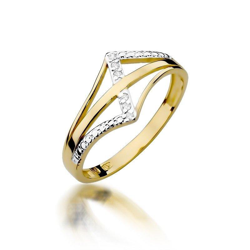 pierścionek ażurowy